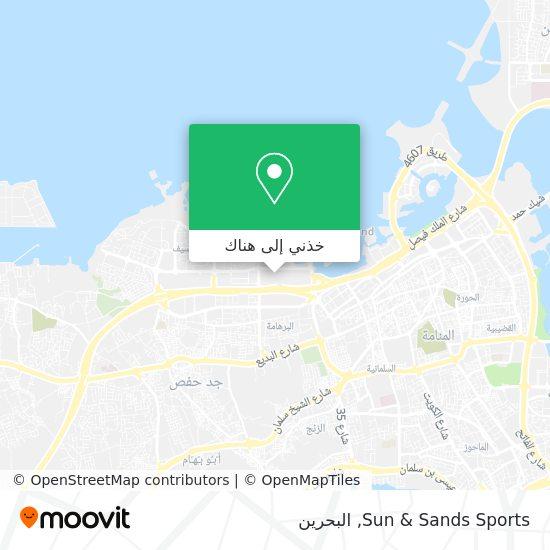 خريطة Sun & Sands Sports