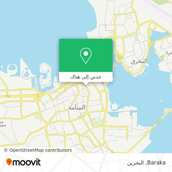 خريطة Baraka