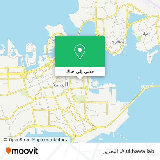 خريطة Alukhawa lab