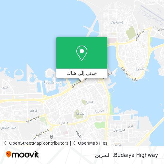 خريطة Budaiya Highway