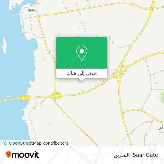 خريطة Saar Gate