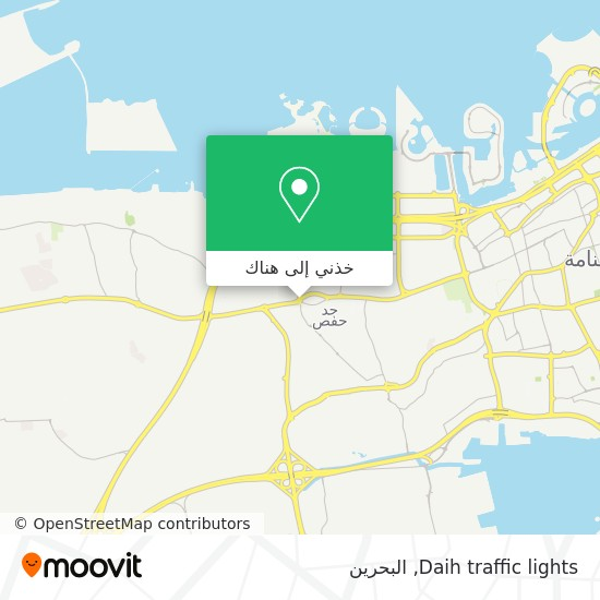 خريطة Daih traffic lights