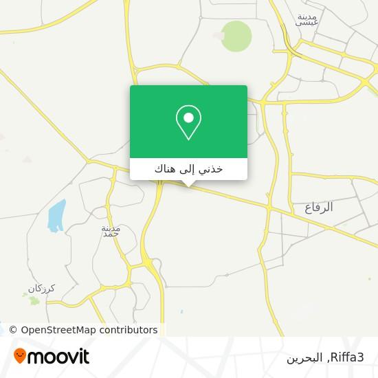 خريطة Riffa3