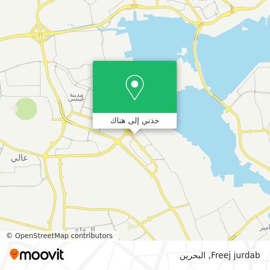 خريطة Freej jurdab