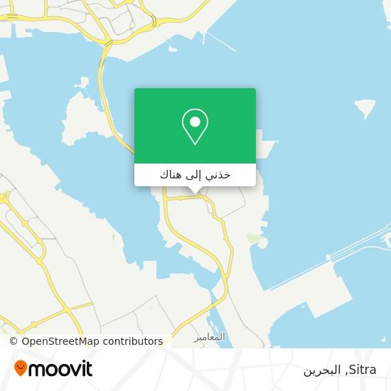 خريطة Sitra