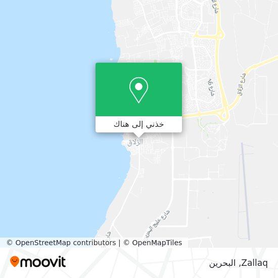 خريطة Zallaq