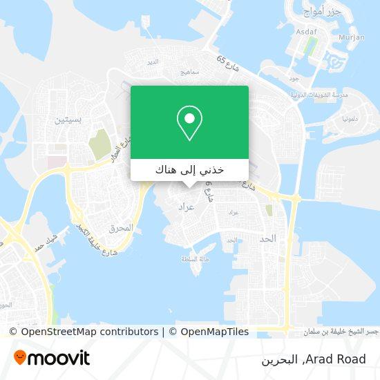 خريطة Arad Road