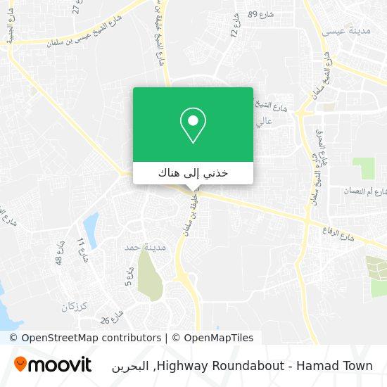 خريطة Highway Roundabout - Hamad Town