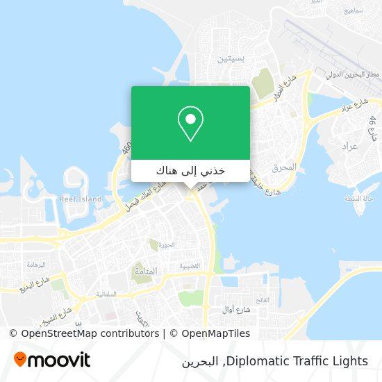 خريطة Diplomatic Traffic Lights