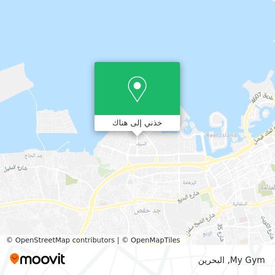 خريطة My Gym