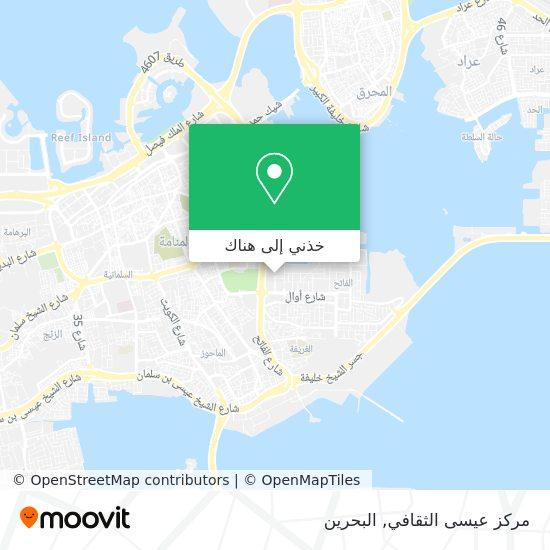 خريطة مركز عيسى الثقافي