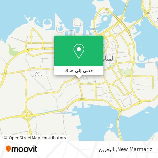 خريطة New Marmariz