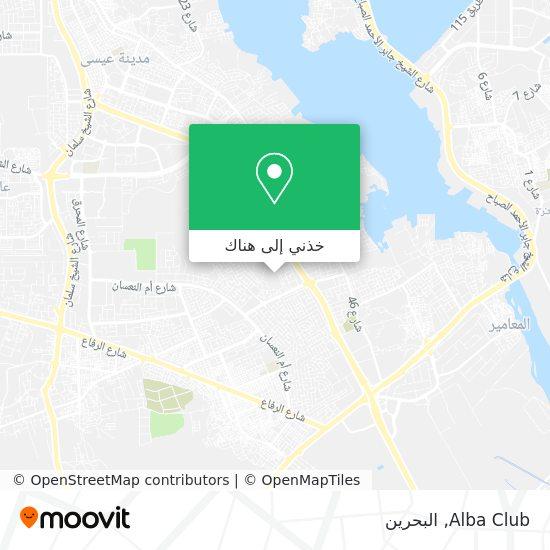 خريطة Alba Club