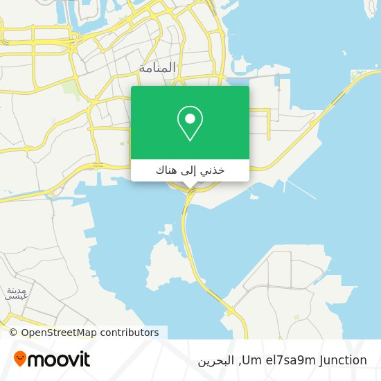 خريطة Um el7sa9m Junction