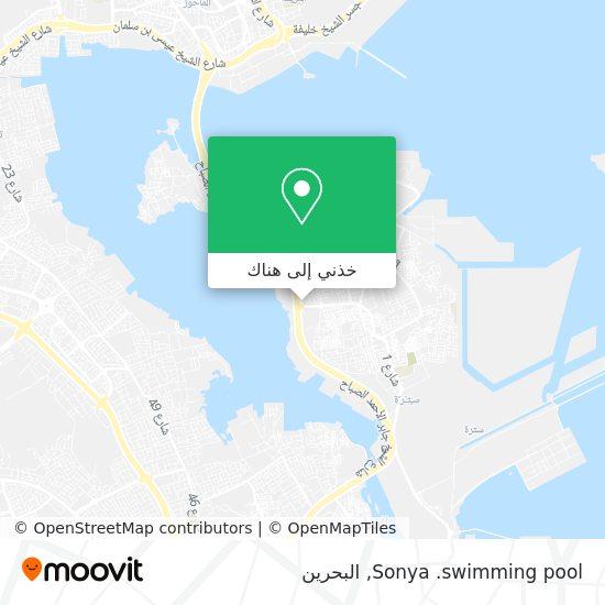 خريطة Sonya .swimming pool