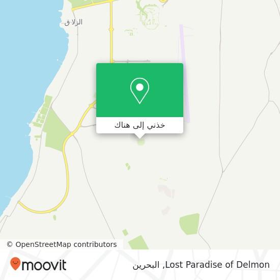 خريطة Lost Paradise of Delmon
