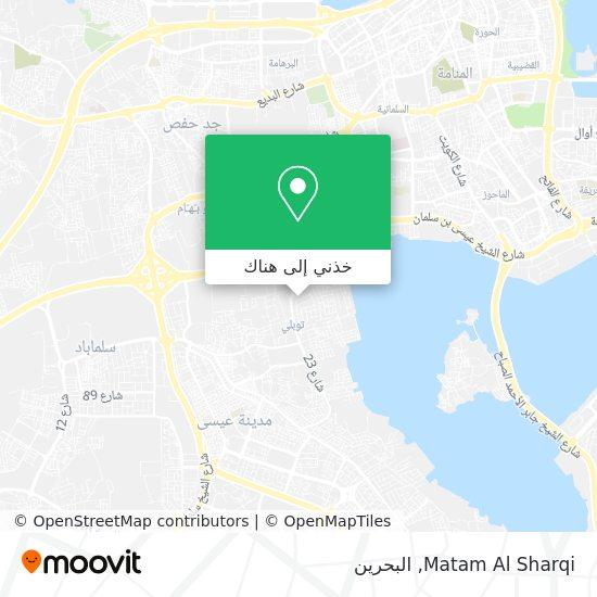 خريطة Matam Al Sharqi