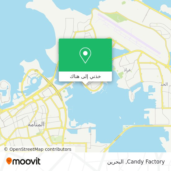 خريطة Candy Factory