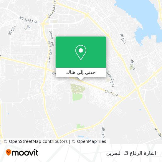 خريطة اشارة الرفاع 3