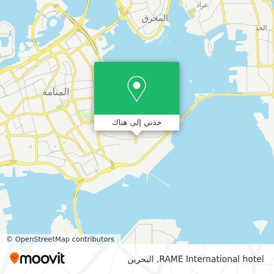 خريطة RAME International hotel