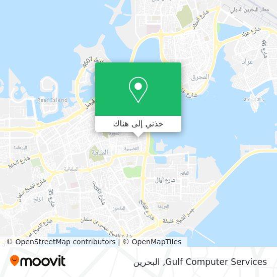 خريطة Gulf Computer Services