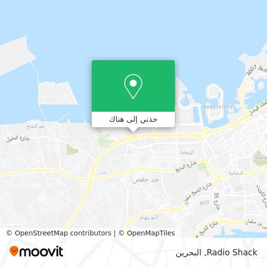 خريطة Radio Shack