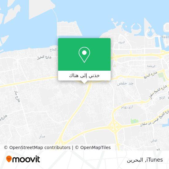 خريطة iTunes