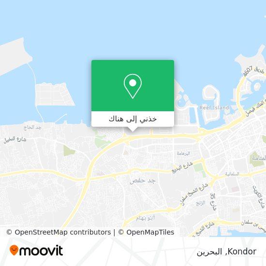 خريطة Kondor