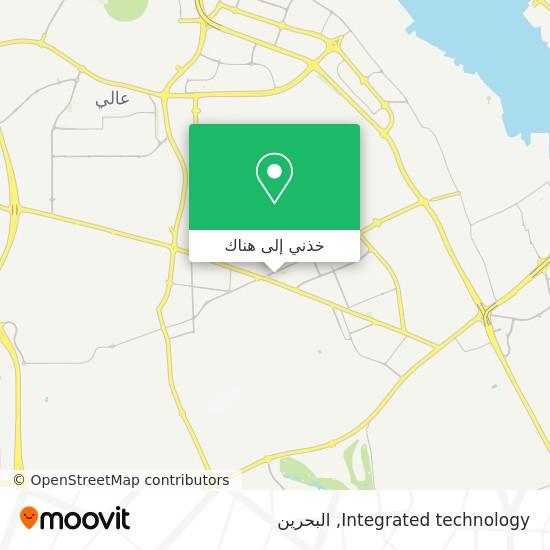 خريطة Integrated technology