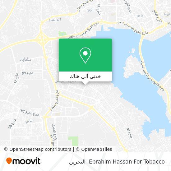 خريطة Ebrahim Hassan For Tobacco