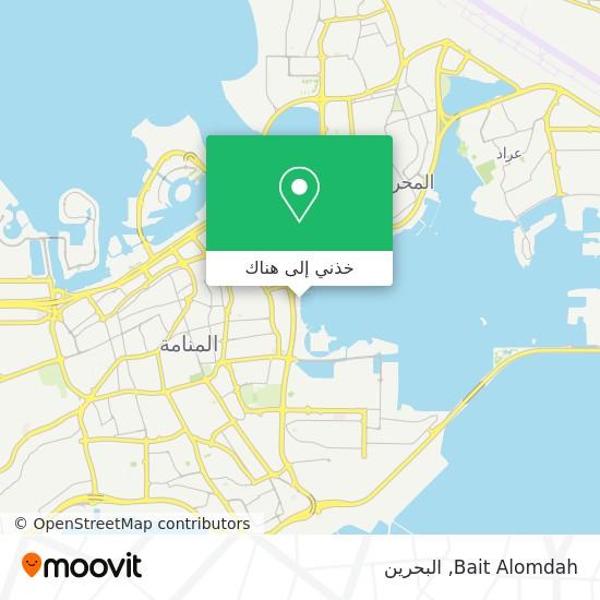 خريطة Bait Alomdah