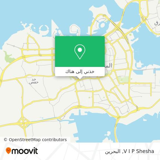 خريطة V I P Shesha