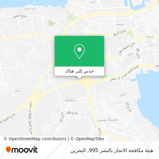 خريطة هيئة مكافحة الاتجار بالبشر     995