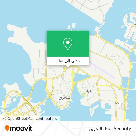 خريطة Bas Security