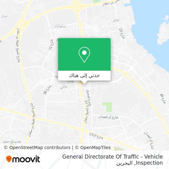 خريطة General Directorate Of Traffic - Vehicle Inspection