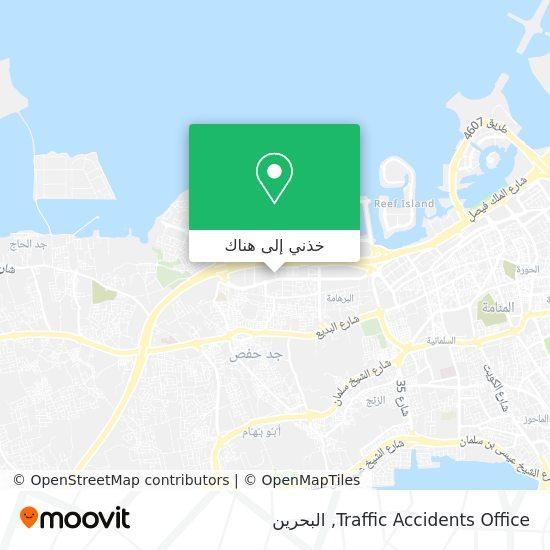 خريطة Traffic Accidents Office