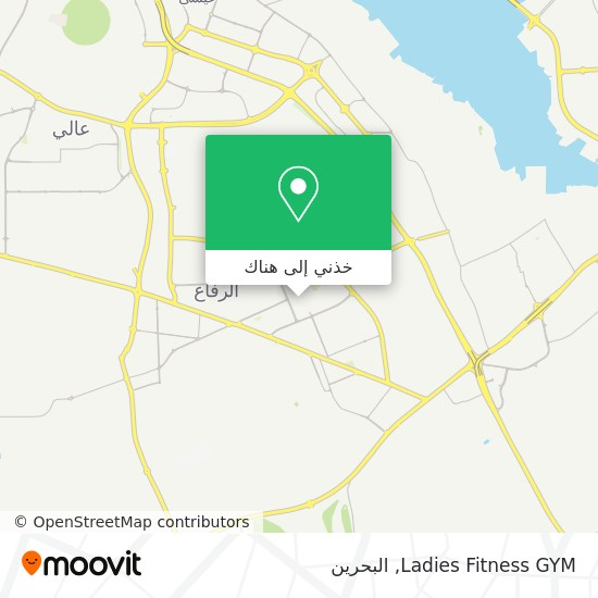 خريطة Ladies Fitness GYM