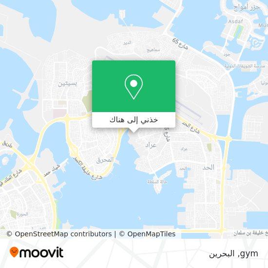 خريطة gym