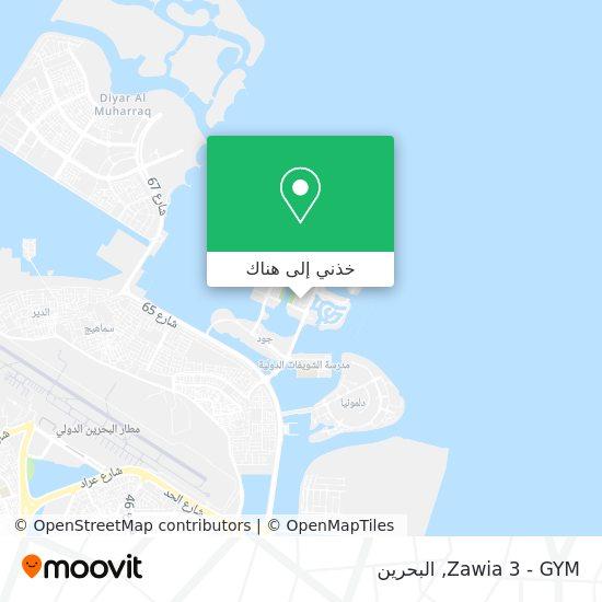 خريطة Zawia 3 - GYM