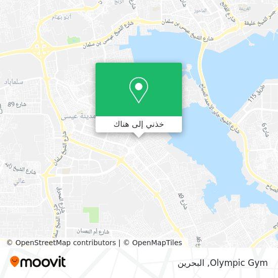 خريطة Olympic Gym