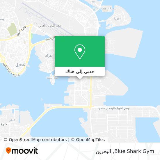 خريطة Blue Shark Gym
