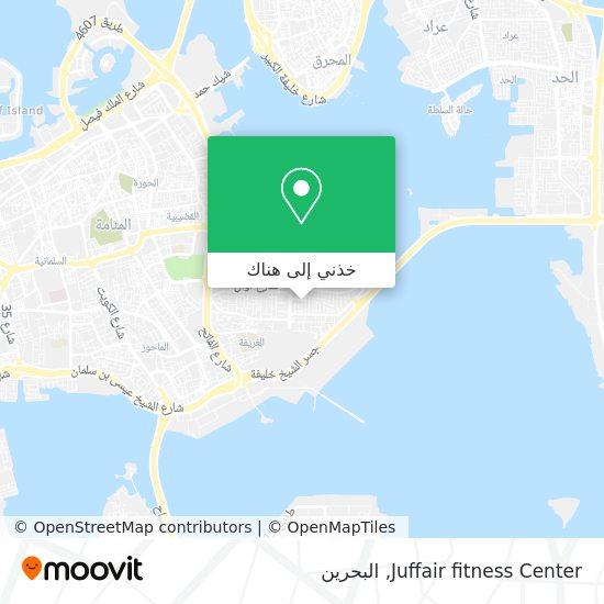 خريطة Juffair fitness Center