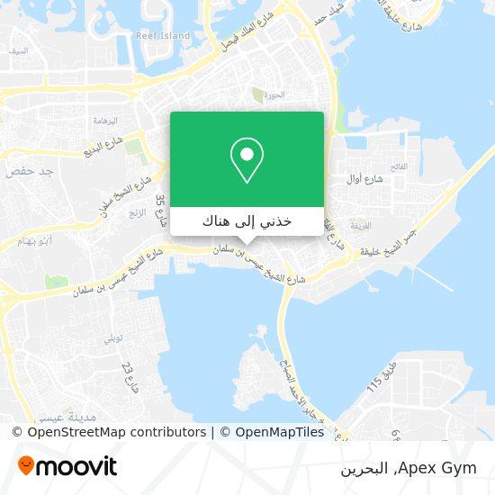 خريطة Apex Gym