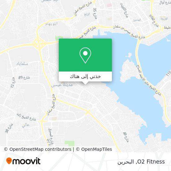 خريطة O2 Fitness