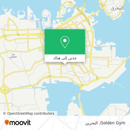 خريطة Golden Gym