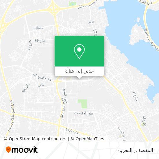 خريطة المقصف