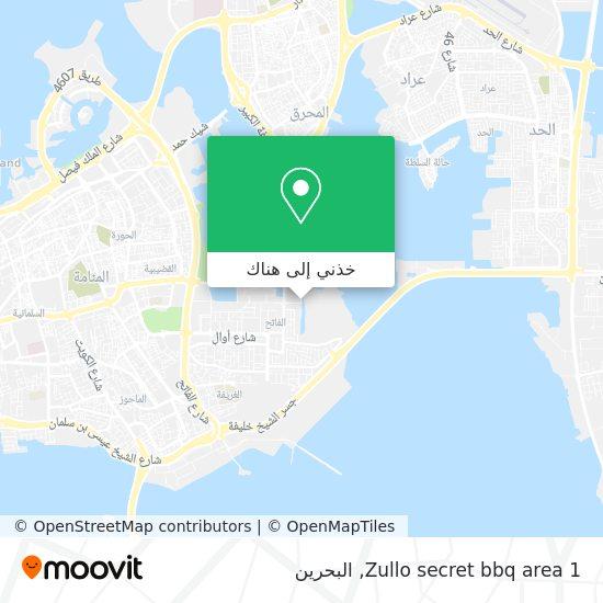 خريطة Zullo secret bbq area 1