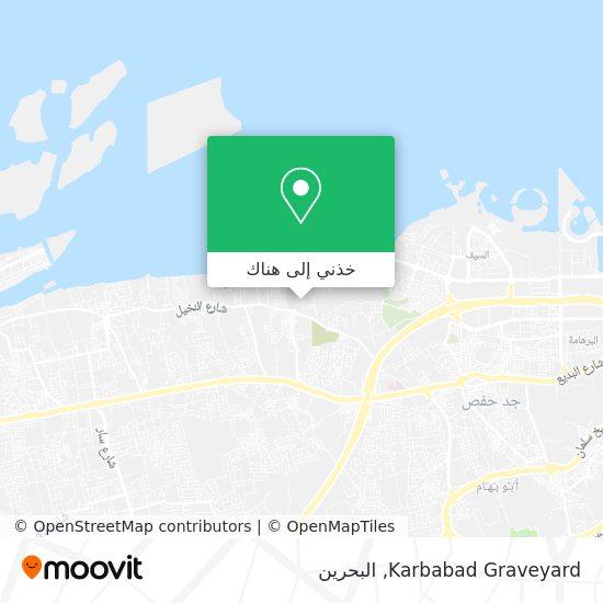 خريطة Karbabad Graveyard