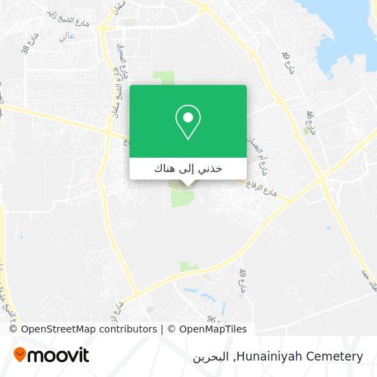 خريطة Hunainiyah Cemetery