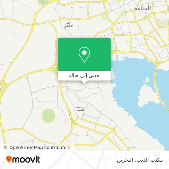 خريطة مكتب الذيب